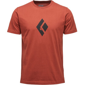 Black Diamond Climb Icon - T-shirt manches courtes Homme - rouge